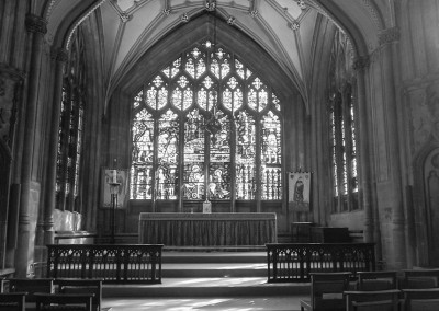 Lady Chapel at St Mary Redcliffe church