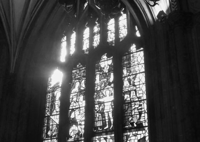 Lady chapel window at St Mary Redcliffe church