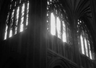 South transept at St Mary Redcliffe church