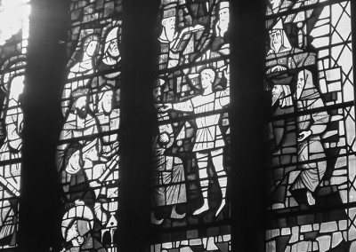 Stained glass at St Mary Redcliffe church
