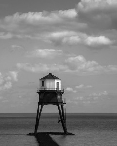 Dovercourt low lighthouse near Harwich