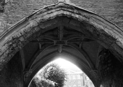 Arch near Gloucester Cathedral