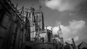 External view of Gloucester Cathedral