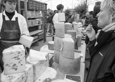 The Neal's Yard cheese stall at the Malvern show