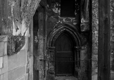 Old doorway near Gloucester Cathedral