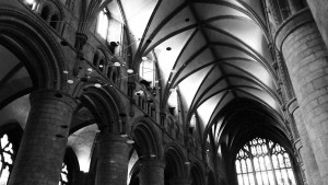 Roof view at Gloucester Cathedral