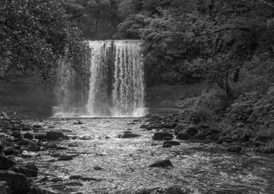 The Sgwd Yr Eira waterfall in the Brecon Beacons