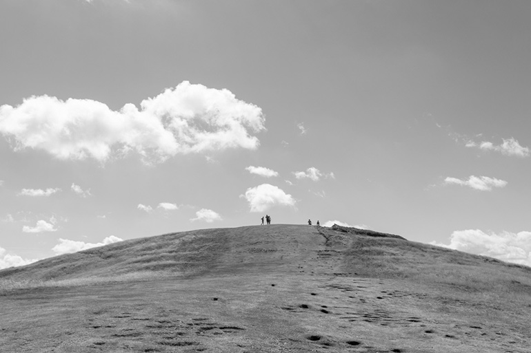 Approaching the top of British Camp Iron-Age fort | Malvern Hills