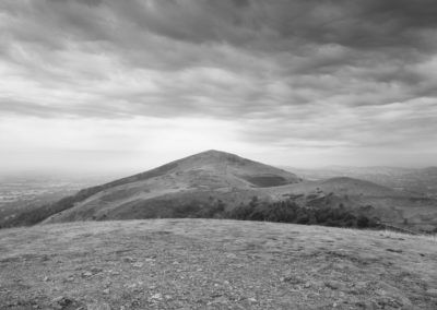 The view from North Hill looking South towards Worcestershire Beacon | Malvern Hills