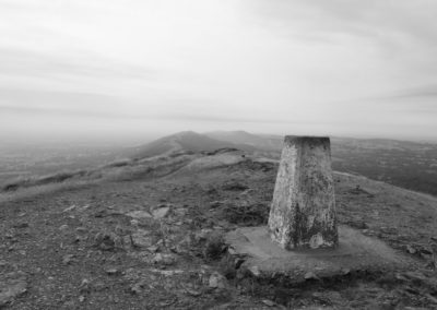 Worcestershire beacon highest point up on the Malvern Hills