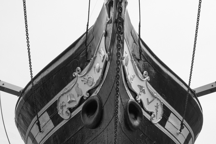 View of the SS Great Britain in Bristol