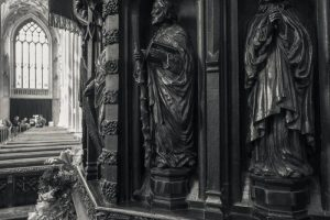 St Mary Redcliffe Church - the pulpit
