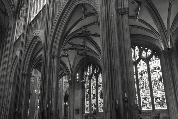 St Mary Redcliffe Church - south aisle