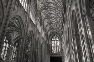 St Mary Redcliffe Church - view of the west end
