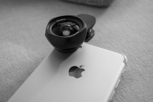 Luxsure lens on iPhone