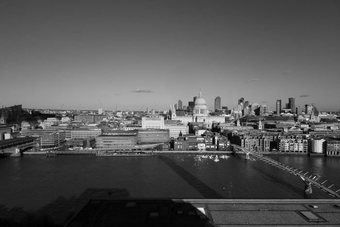 View from Tate Modern - London 2019